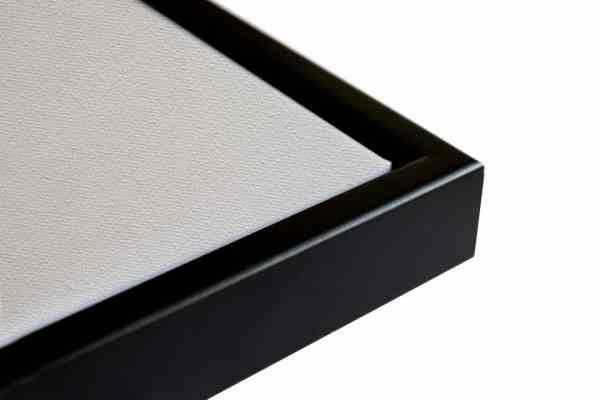 Schattenfugenrahmen schwarz