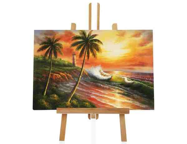 Sonnenuntergang Ölbild
