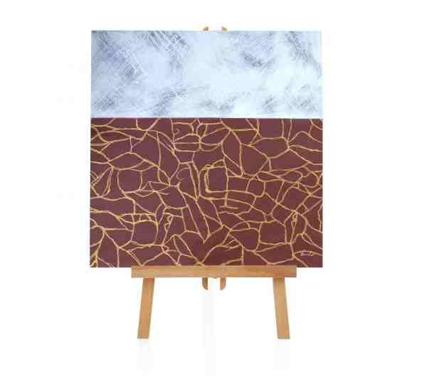 """Acryl Gemälde """"Cracked"""""""