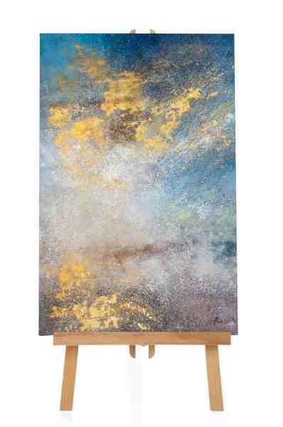 "Acrylbild ""Golden Acrylic"""