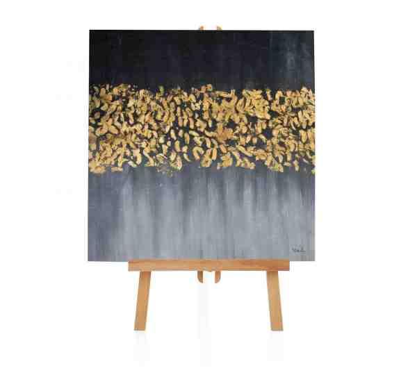 """Acryl Gemälde """"Goldfront"""""""