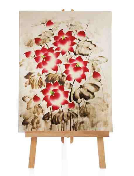 """Ölbild """"Flower"""""""