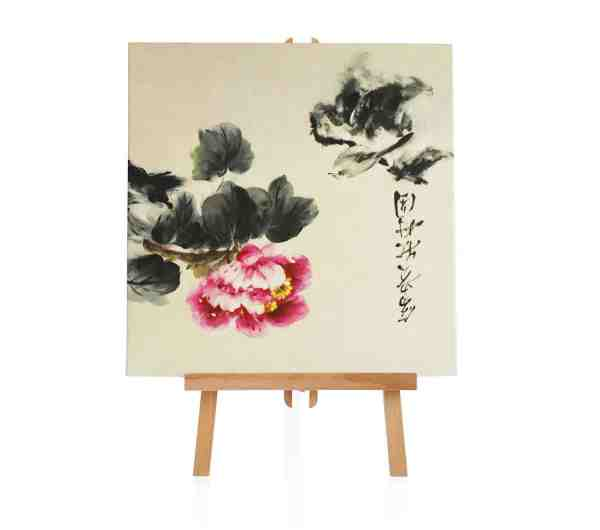 "Ölbild ""Touch of Blossom"""