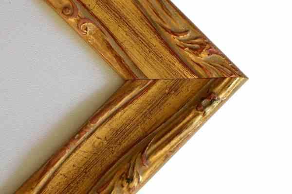 Antiker Bilderrahmen gold