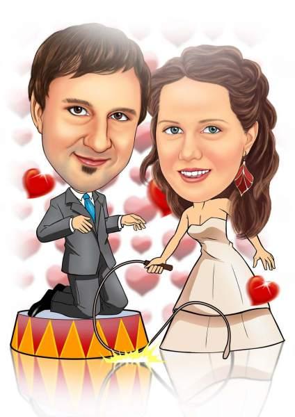 Hochzeit in der Manege