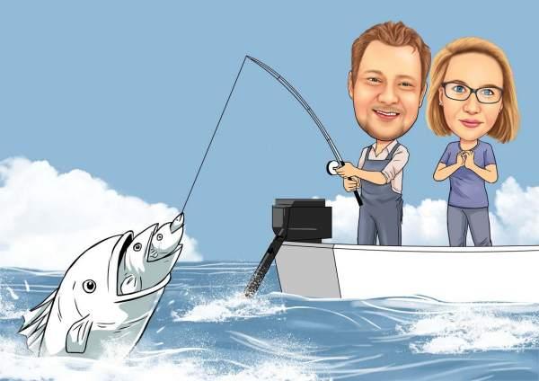 Fang den Fisch