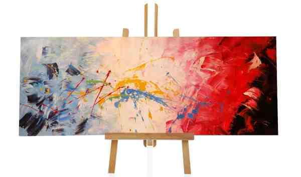tolles abstraktes Ölbild im XL Format