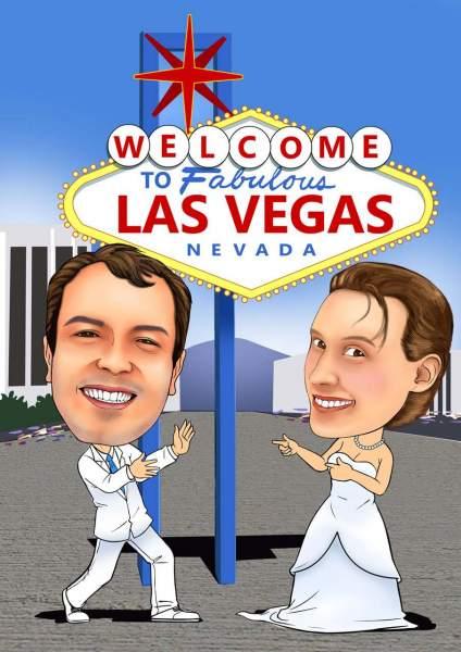 Trauung in Las Vegas