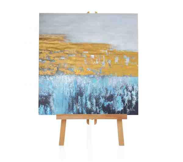 """Acryl Gemälde """"Abstract Lines"""""""