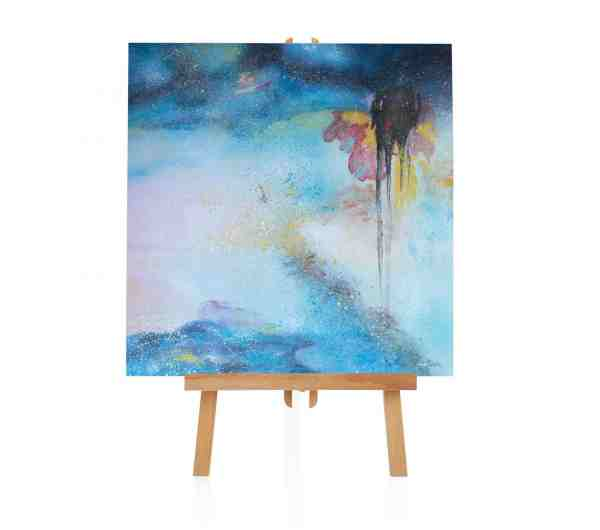"Acryl Gemälde ""Mandala"""