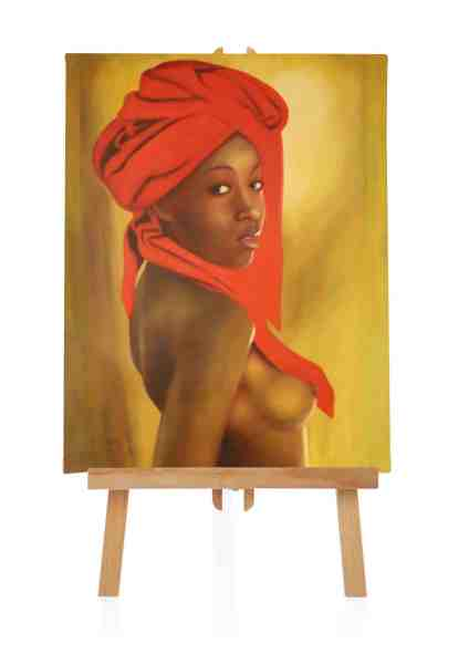 Frau aus Afrika