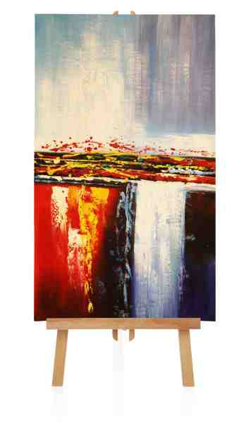 abstraktes Ölbild