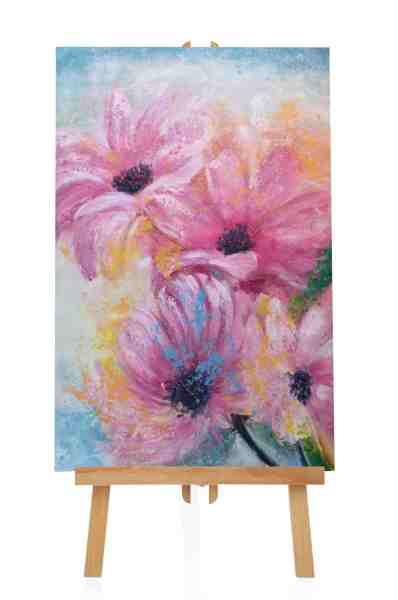 "Acrylbild ""Blumengarten"""