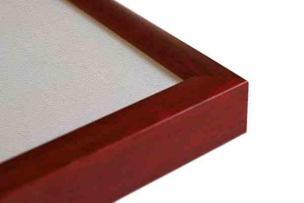 Standard Bilderrahmen Holz rot