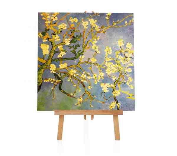 Mandelblüten van Gogh Ölbild