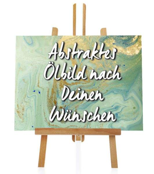 abstraktes Ölbild nach Wunsch