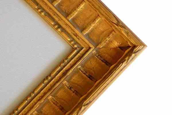 Barock Bilderrahmen gold