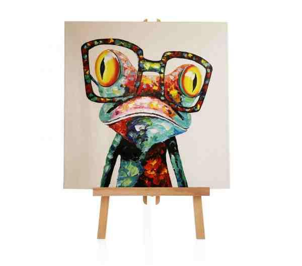 "Acrylbild ""Crazy Frog"""
