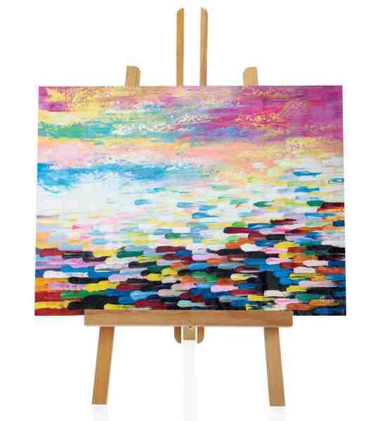 """Acryl Gemälde """"Bucket of Color"""""""