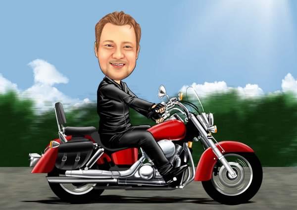 Die Liebe zum Motorrad