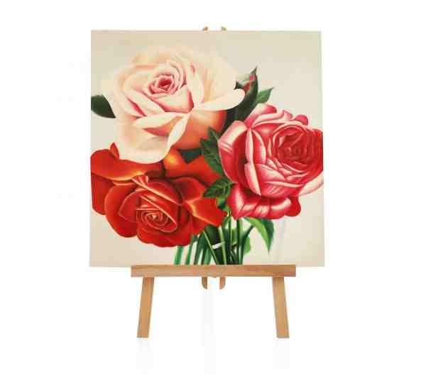 Rosen Ölbild